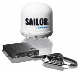 Satelitní terminál Cobham Sailor 150